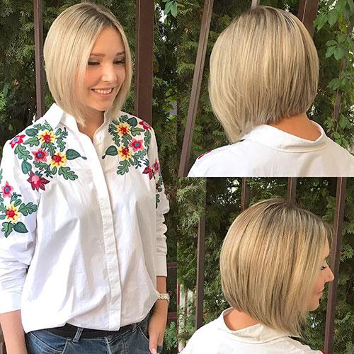 Straight Short Hair Cut