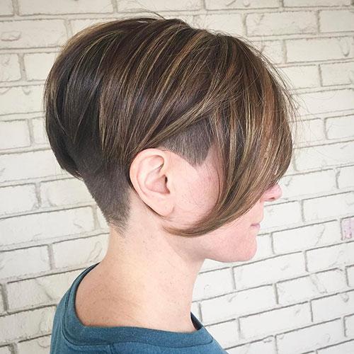 Short Hair And Undercut