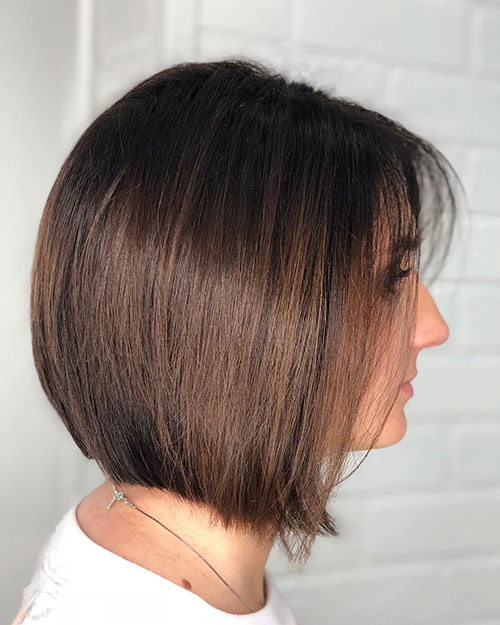 Short And Straight Hair