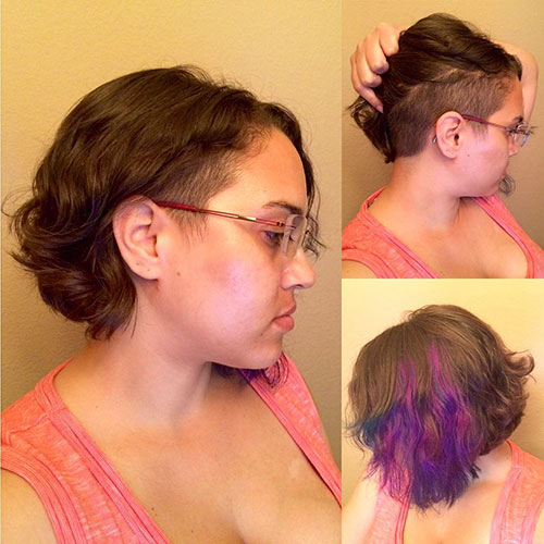 Undercut Hairstyle For Short Hair