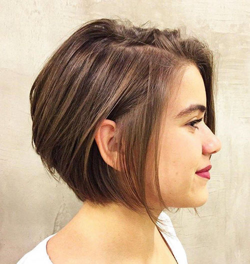 Popular Short Hairstyles For Thick Hair