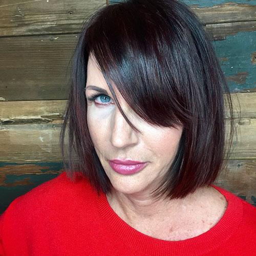 Short Hair Styles For Over 50