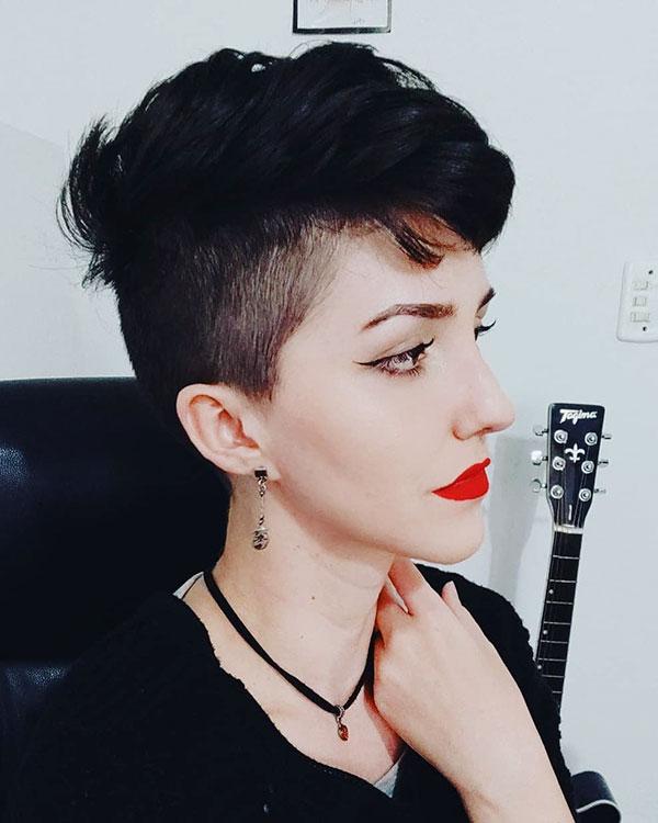Punk Mohawk Hair