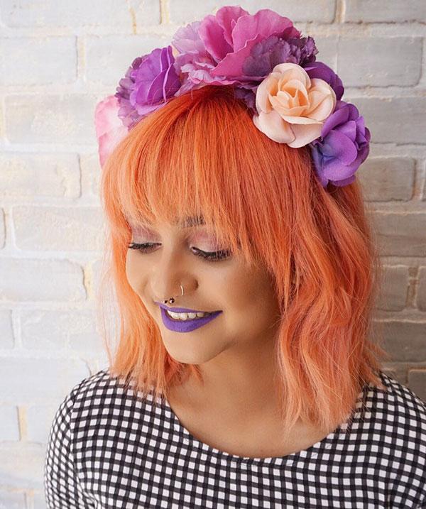 Short Orange Hair Ideas