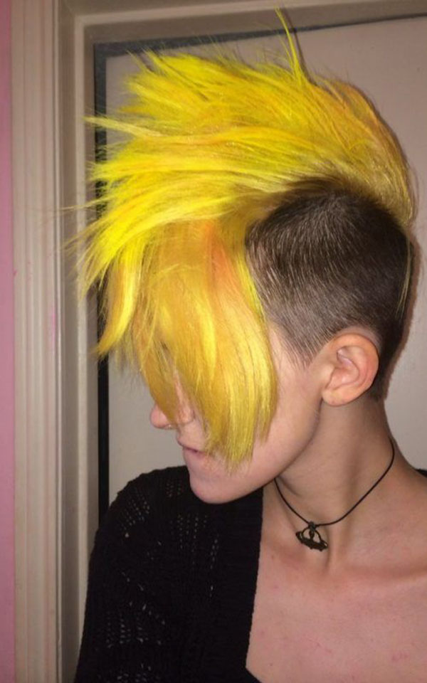Mohawk Hairstyle Examples