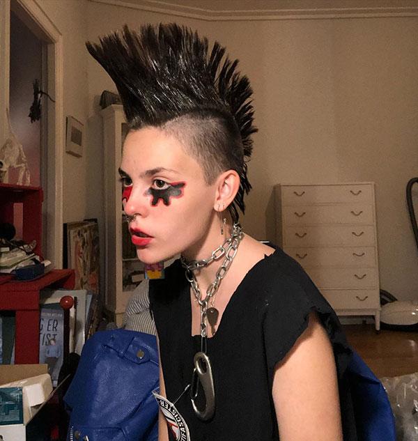 Crazy Mohawk Hair