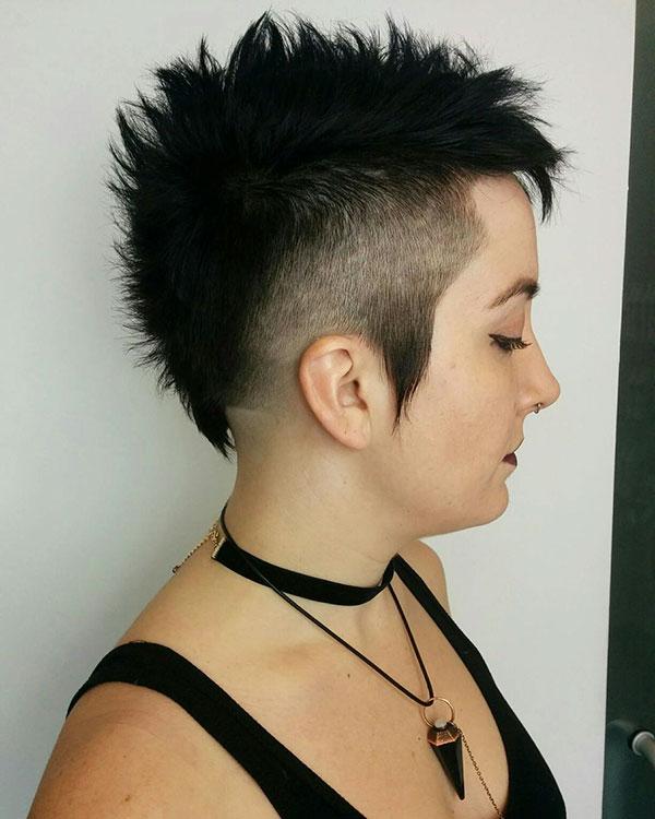 Funny Mohawk Hair