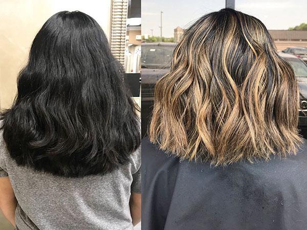 Hair Highlights For Short Hair