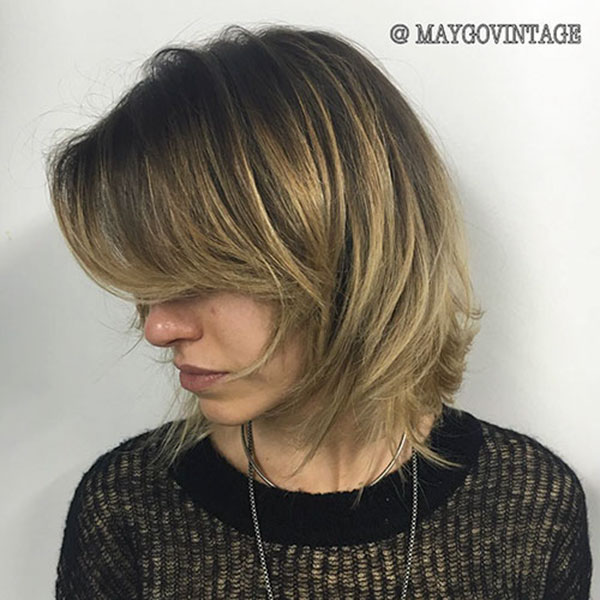 Short Hair Highlights