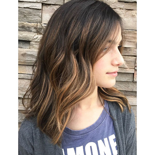 Short Hair Color Highlights