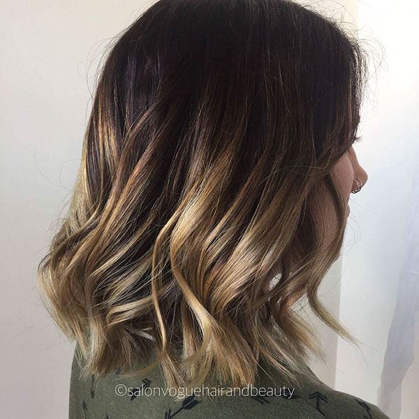 Pictures Of Short Hairstyles With Highlights
