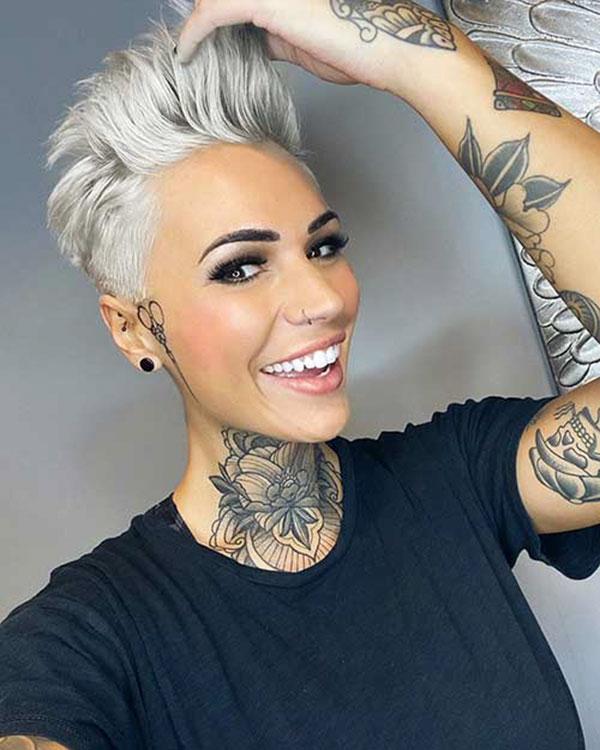 2021 short hair for women