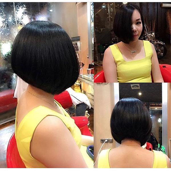 bob cut hairstyle short