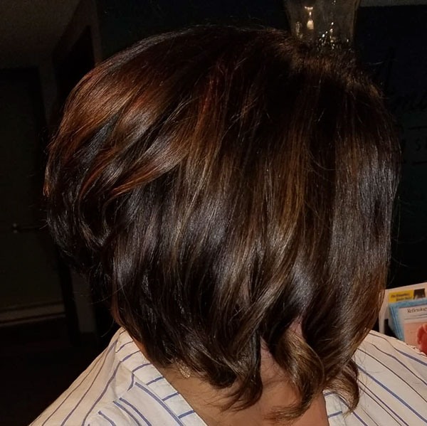 bob hair cut women
