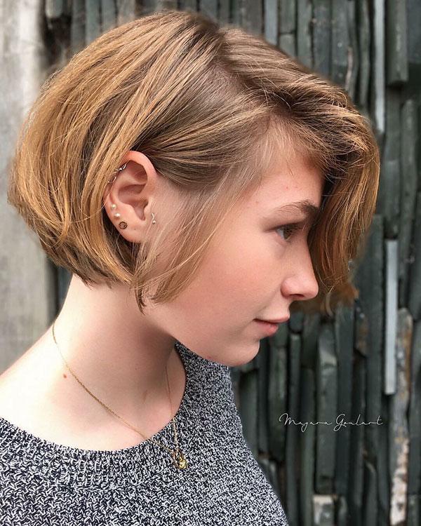 female short hair cut