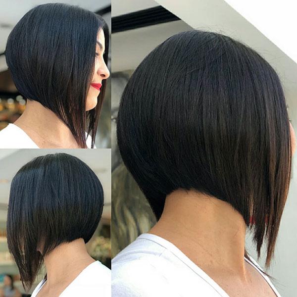 ladies short bob haircut