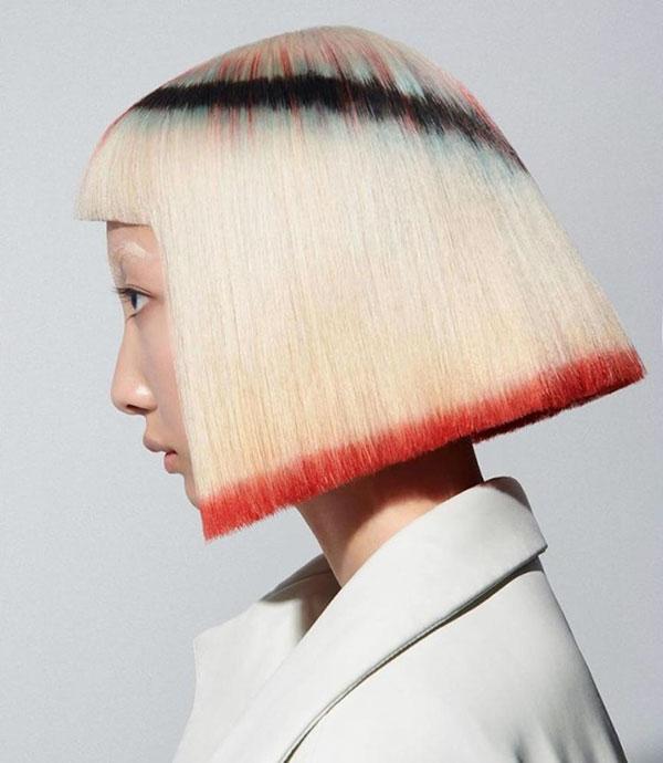 latest short hair 2021