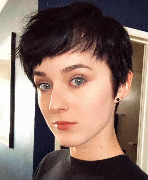 pixie cut image