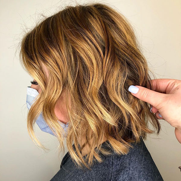 short hair style images 2021