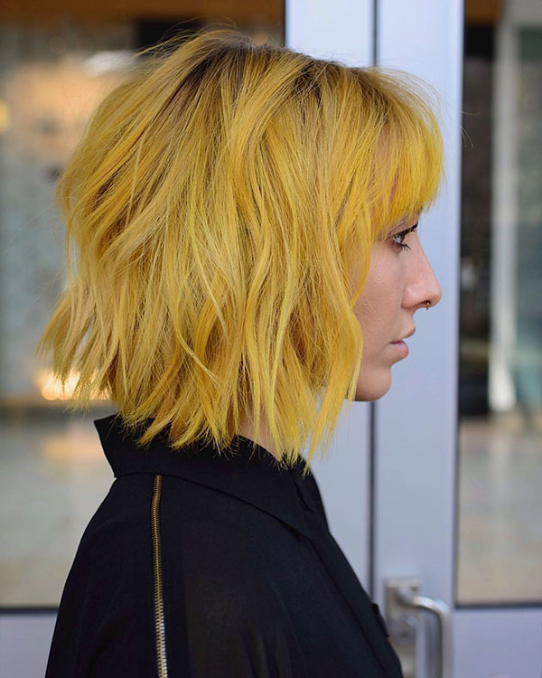 short hairstyle for 2021