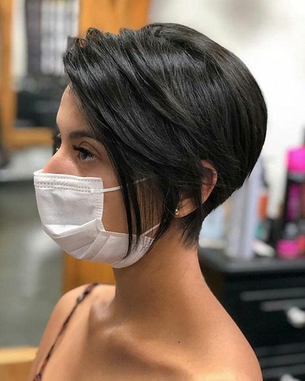 short hairstyles 2021 female