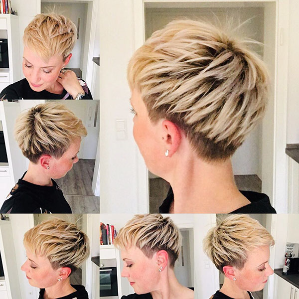 trendy pixie hairstyles 2021