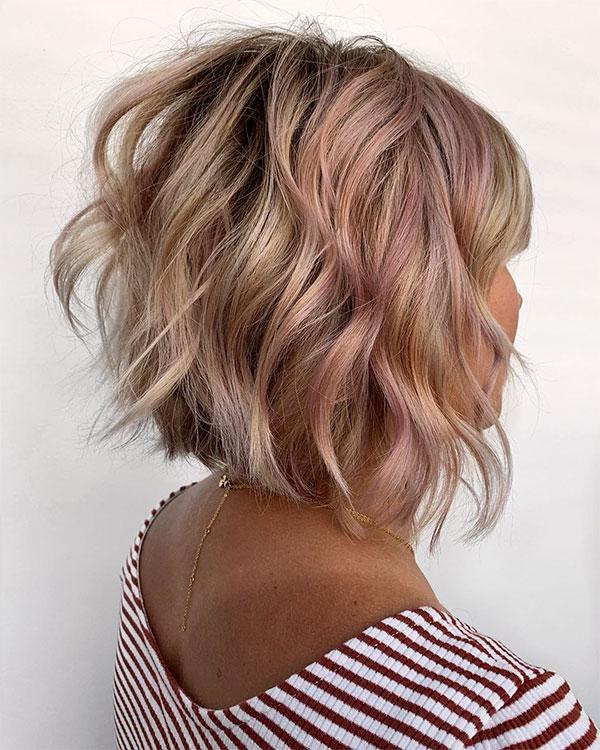 cool wavy hair