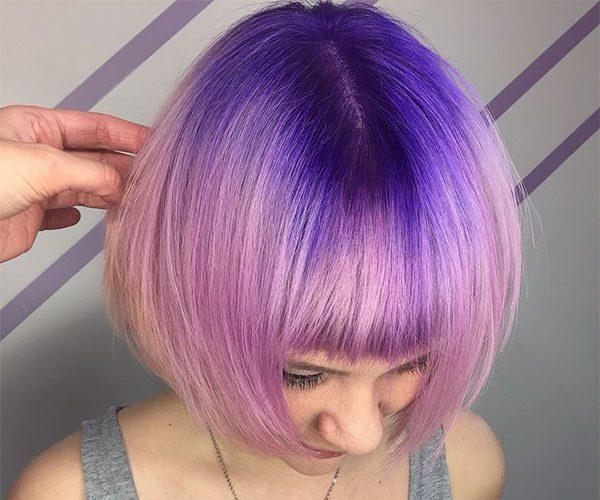 good purple hairstyles