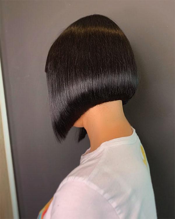 haircut straight cut