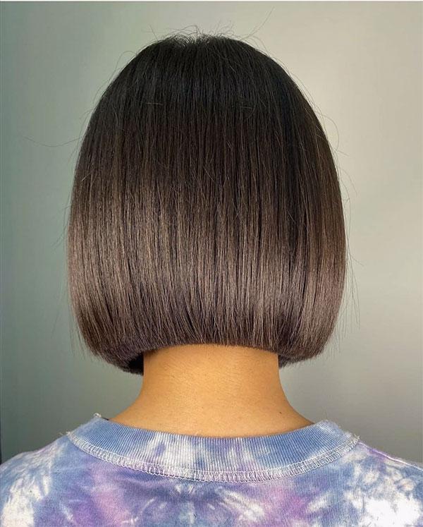 heatless straight hair