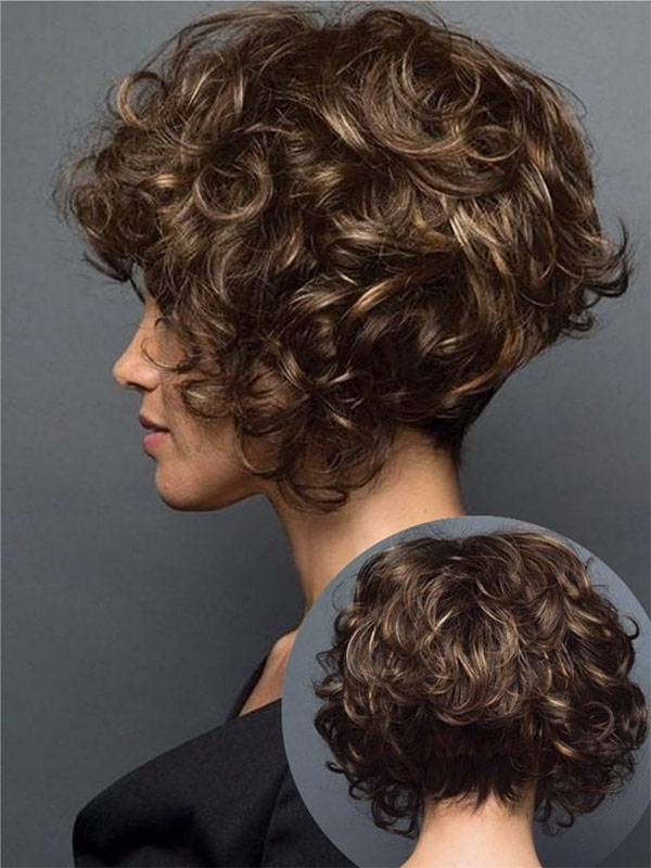 ladies curly hairstyles