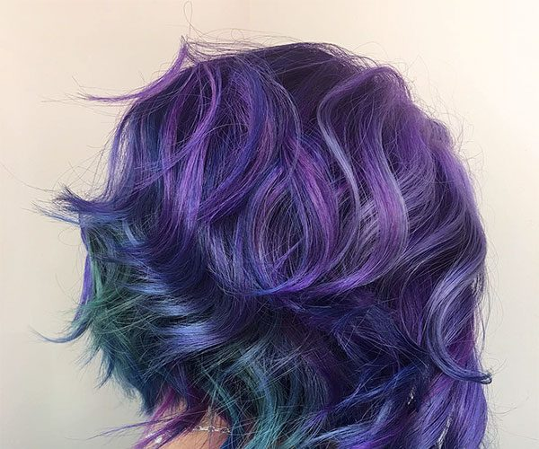 new purple hairstyles