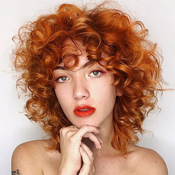 pictures of short haircuts for curly hair