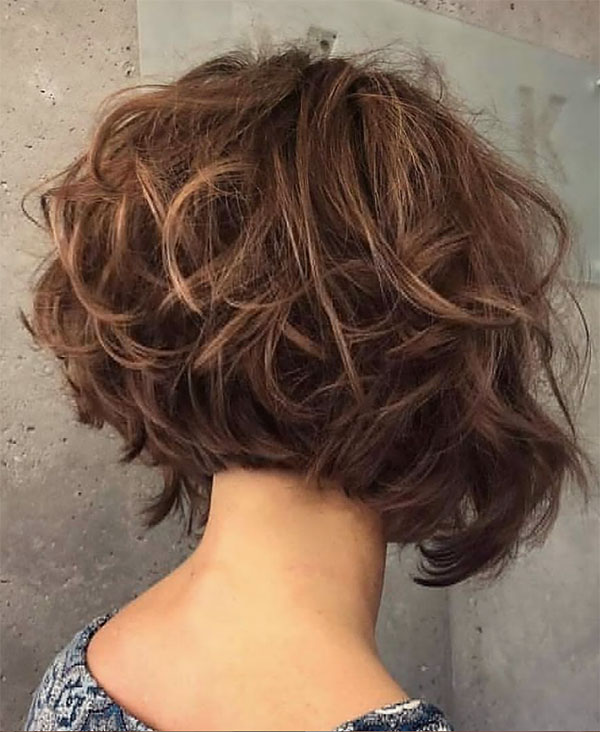 short and curly haircuts