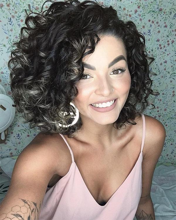short curly hair pics