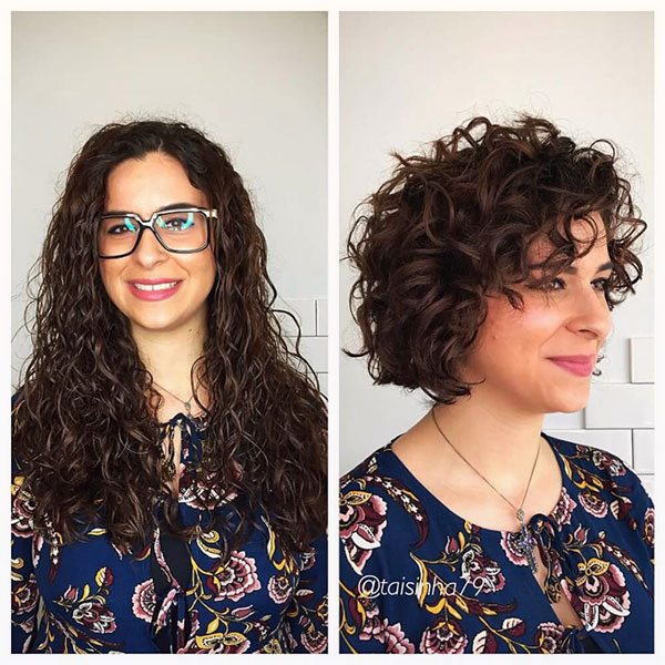 simple curly hair hairstyles