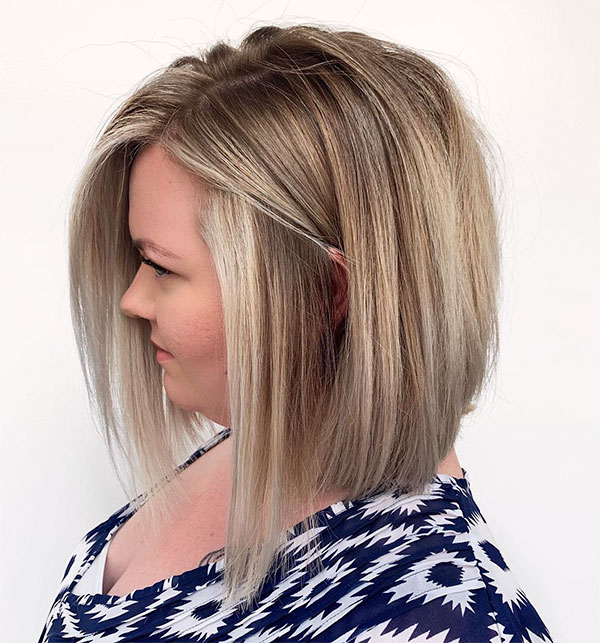 simply straight on short hair