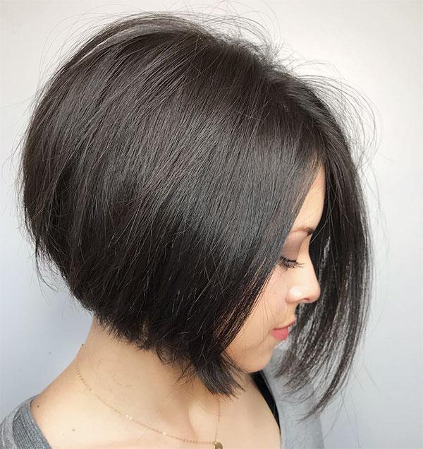 straight short hair cuts