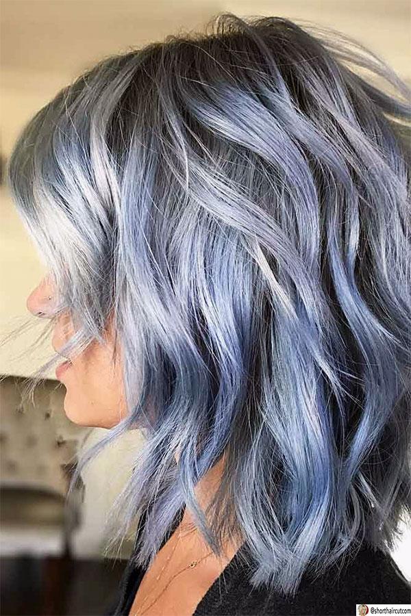 summer blue hair ideas