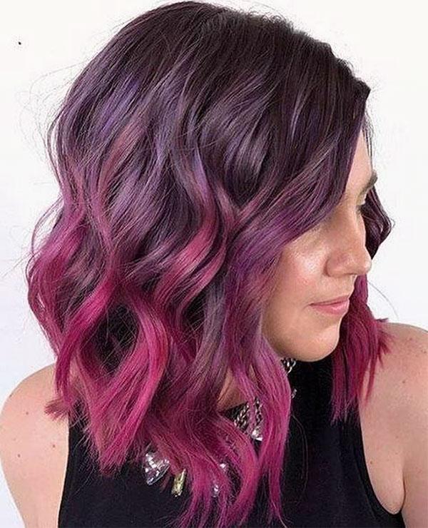wavy hair photos
