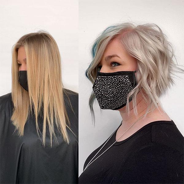 wavy hairstyles 2021